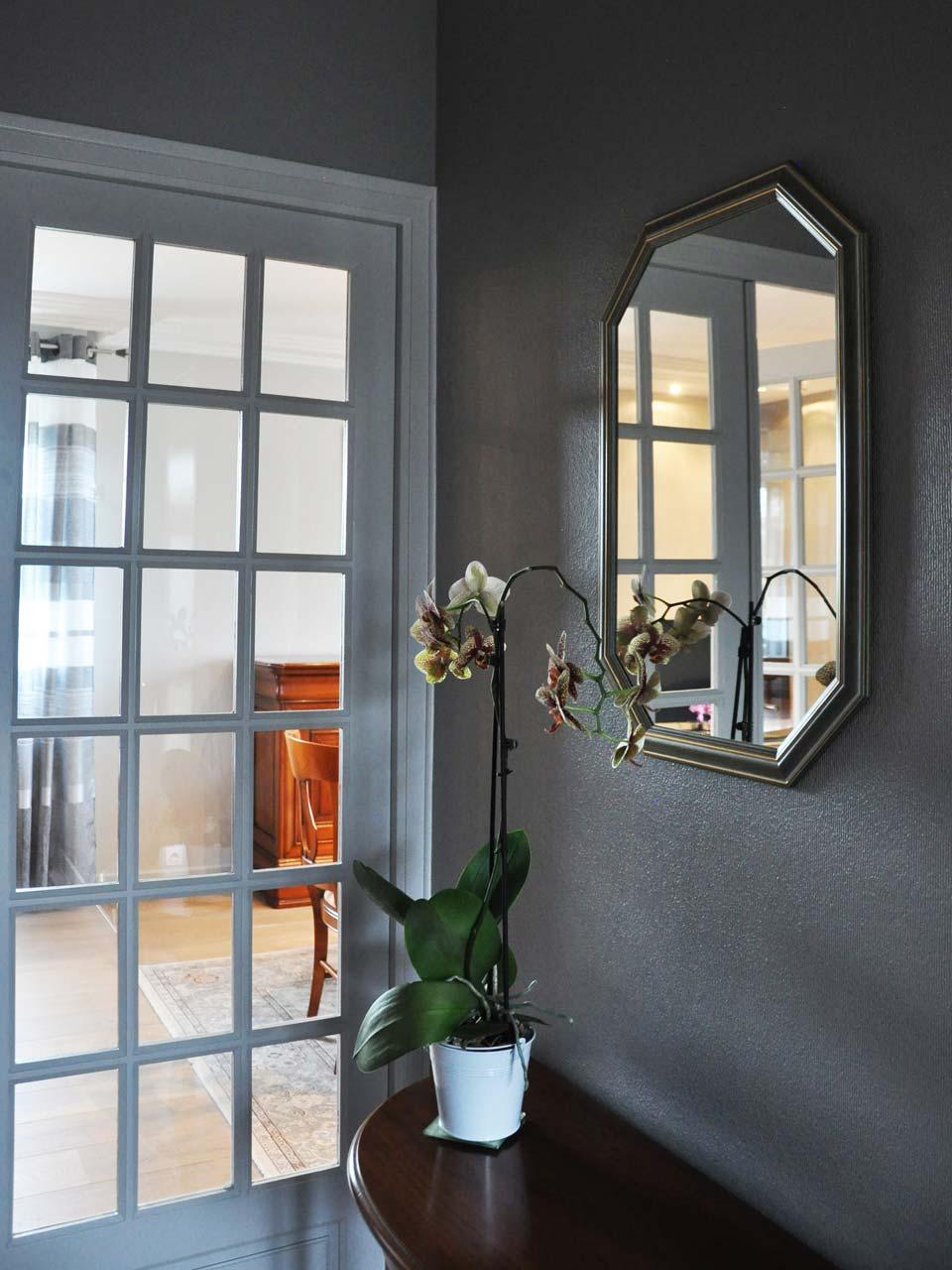 Couloir peinture décoration